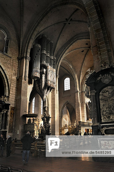 Orgel  Dom  Trier  Rheinland-Pfalz  Deutschland  Europa