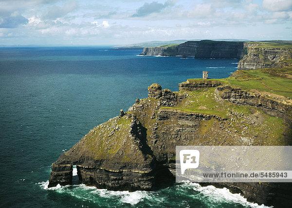 Cliffs von Moher  County Clare  Republik Irland  Europa