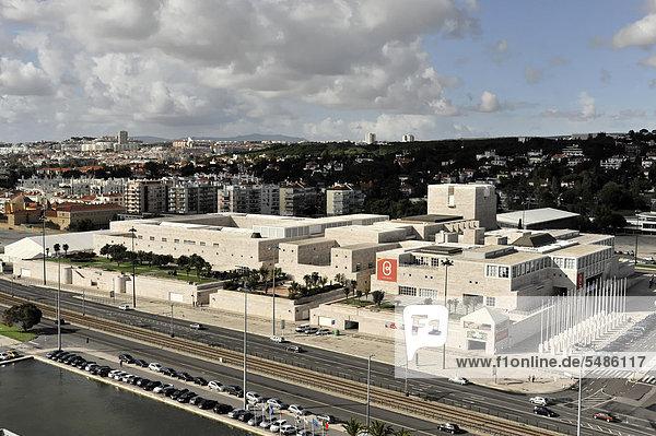 Cento Cultural de BelÈm  cultural centre of Belem  Lisbon  Portugal  Europe
