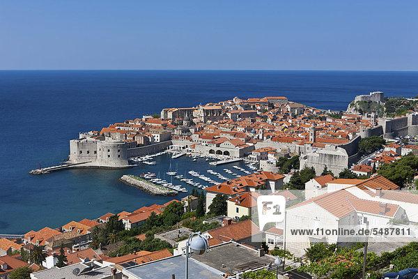 Europa Stadt Geschichte Ignoranz UNESCO-Welterbe Kroatien Dalmatien Dubrovnik