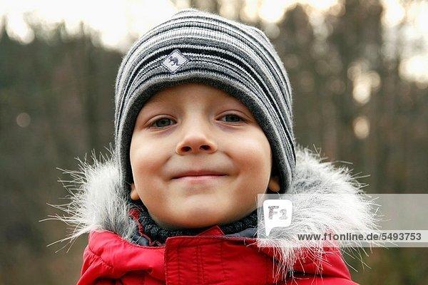 Portrait 5 Junge - Person Herbst alt Jahr