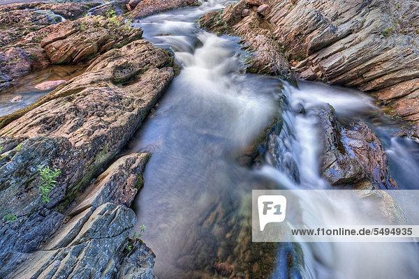 Torsbjørka oder Torsbjoerka Fluss  Skarvan und Roltdalen Nationalpark  Skarvan og Roltdalen  Provinz Nord-Trøndelag  Norwegen  Skandinavien  Europa