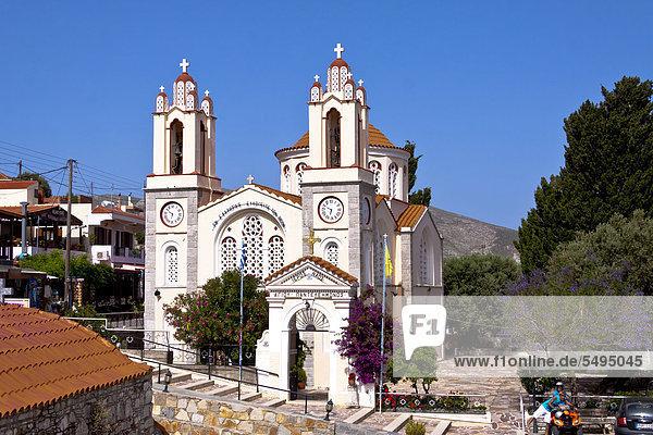Kirche  Monolithos  Rhodos  Griechenland  Europa