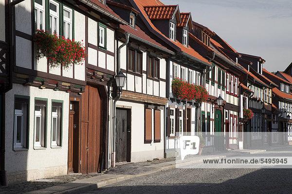 Europa Deutschland Sachsen-Anhalt Wernigerode