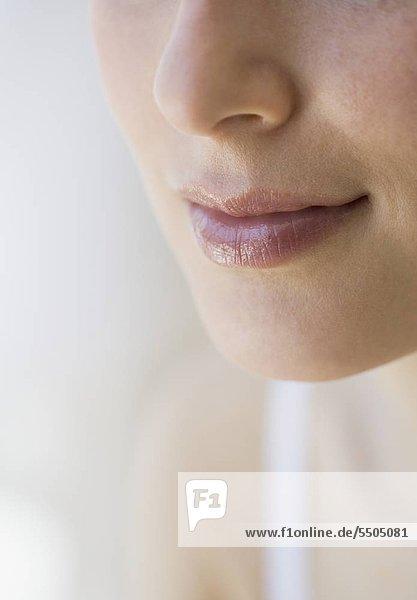 Close up of WomanÌs Mund