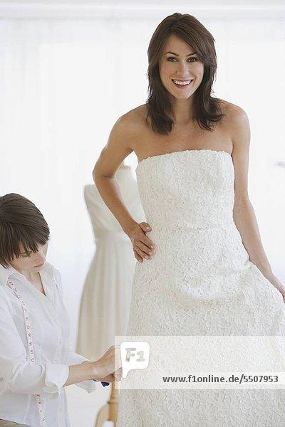 Braut Kleid ausgestattet mit