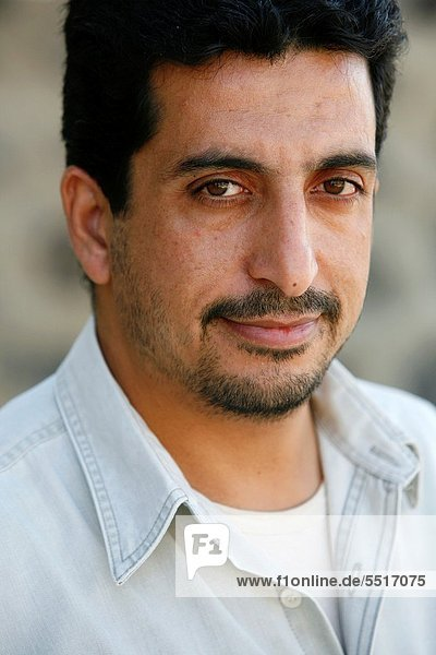 Portrait of a Jordanian man  Azraq  Jordan