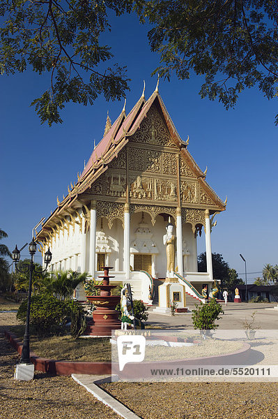 Tempel Wat That Luang Neua  Vientiane  Laos  Indochina  Asien