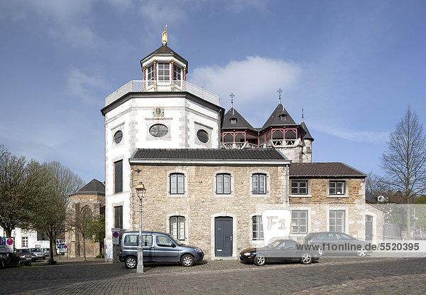 Propsteikirche St. Kornelius  Kornelimünster  Aachen  Nordrhein-Westfalen  Deutschland  Europa  ÖffentlicherGrund