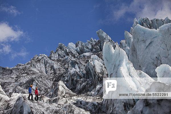 Bewunderung  Landschaft  wandern  Eis