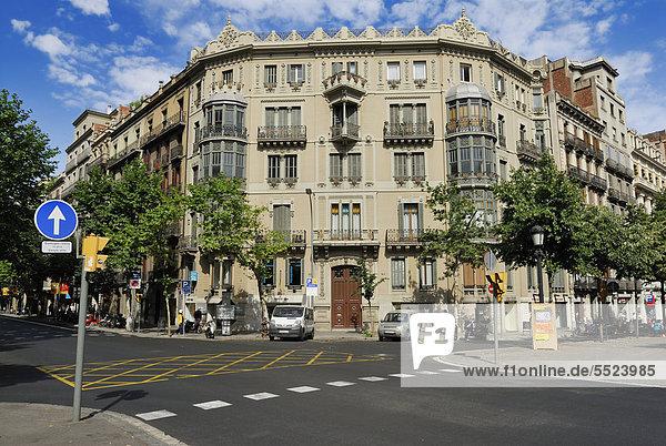 Europa Barcelona Katalonien Spanien