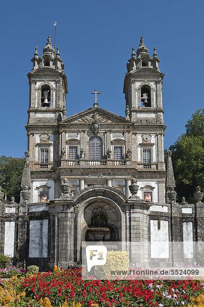 Bom Jesus do Monte Sanctuary  Braga  Minho  Portugal  Europe