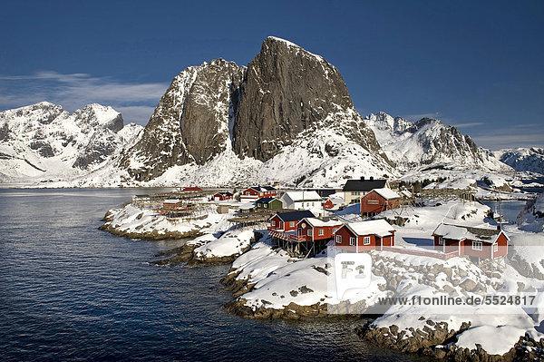 Europa Norwegen Reine