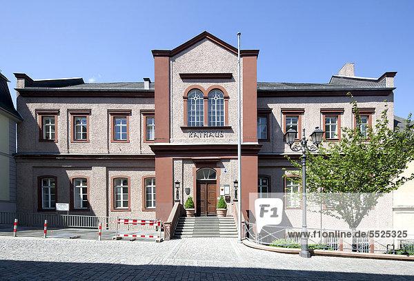 Europa Deutschland Hessen Altes Rathaus