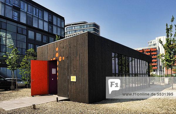 Ökumenisches Forum Hafencity  Kirche in der Hafencity von Hamburg  Deutschland  Europa