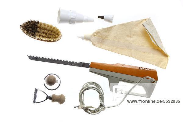 Verschiedene Küchenwerkzeuge  Küchenutensilien