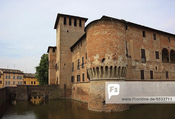 Burg Fontanellato  Rocca Sanvitale  Emilia Romagna  Italien  Europa