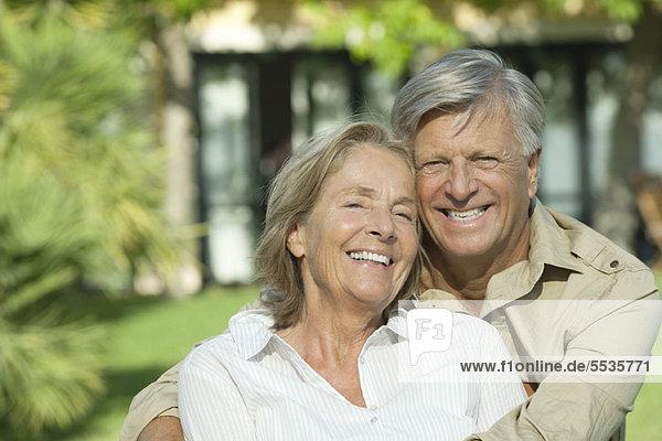 Seniorenpaar  Portrait