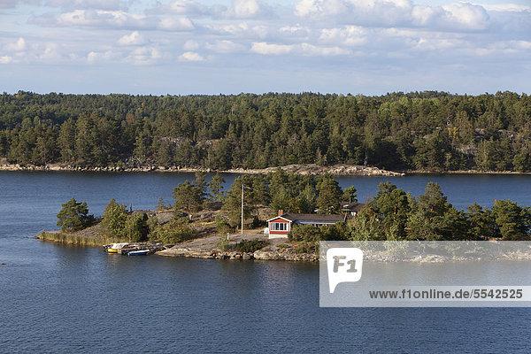 Europa klein Insel Inselgruppe Ostsee Baltisches Meer Schweden schwedisch