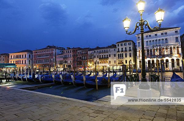 Europa UNESCO-Welterbe Canale Grande Italien Venetien