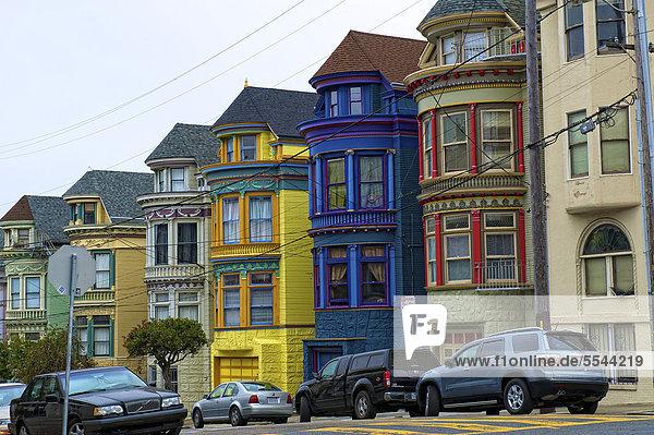 Vereinigte Staaten von Amerika USA Reihenhaus Kalifornien San Francisco