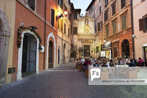 nahe Rom Hauptstadt Europa klein Quadrat Quadrate quadratisch quadratisches quadratischer Italien