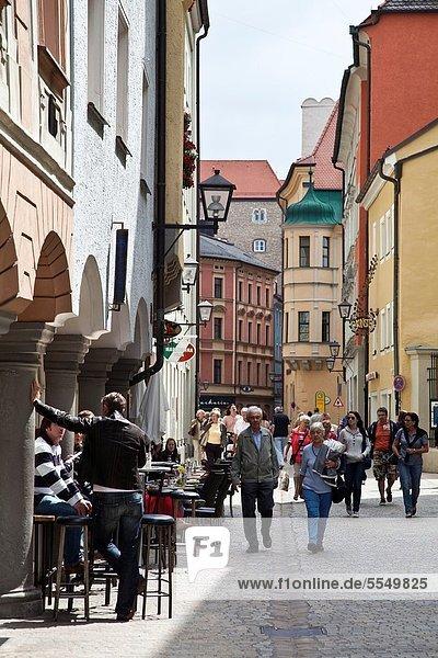 Europa  UNESCO-Welterbe  Bayern  Deutschland  Regensburg  Oberpfalz