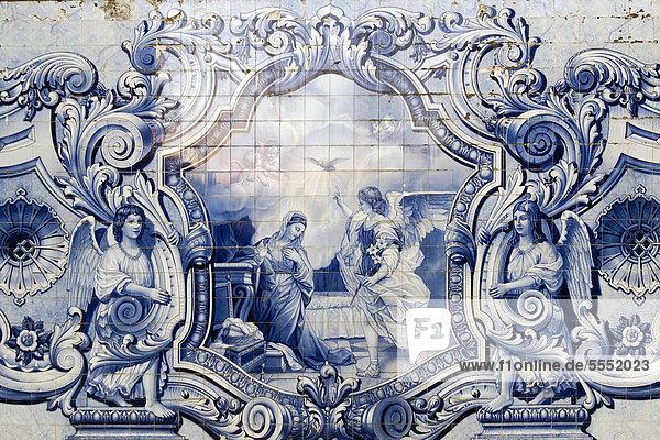 Azulejos  Nossa Senhora dos Remedios Kirche  Lamego  Tras-os-Montes  Portugal  Europa Azulejos, Nossa Senhora dos Remedios Kirche, Lamego, Tras-os-Montes, Portugal, Europa
