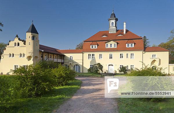 Schloss Lauben  Weinböhla  Meißen  Sächsisches Elbland  Sachsen  Deutschland  Europa