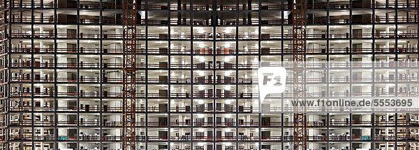 Neubau der Europäischen Zentralbank  Frankfurt  Hessen  Deutschland Neubau der Europäischen Zentralbank, Frankfurt, Hessen, Deutschland