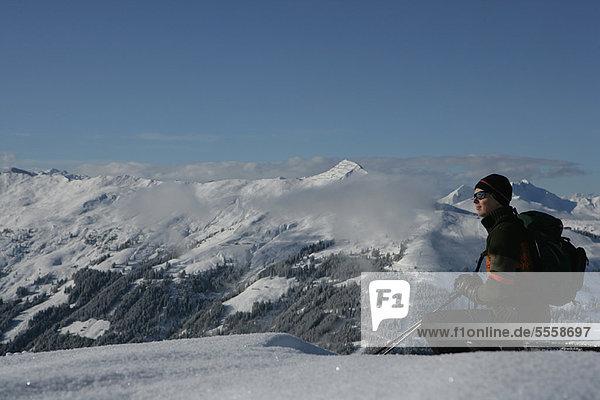 Berg  Skifahrer  Schnee  Ignoranz