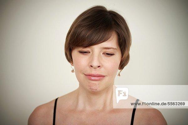 weinen  Frau  jung