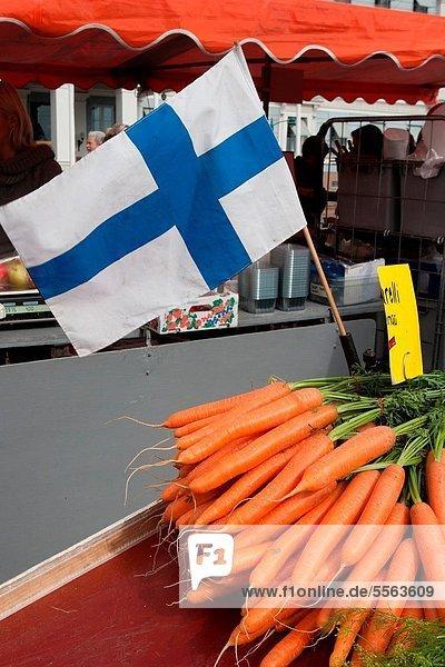 Helsinki  Hauptstadt  Finnland  Lebensmittelhändler