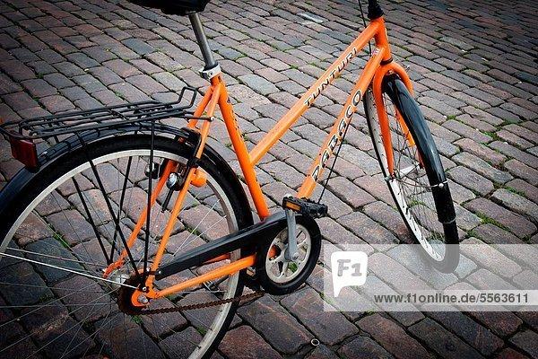 Helsinki  Hauptstadt  Fahrrad  Rad  Finnland