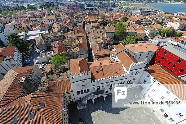 Praetorian Palace  Koper  Slovenia  Europe