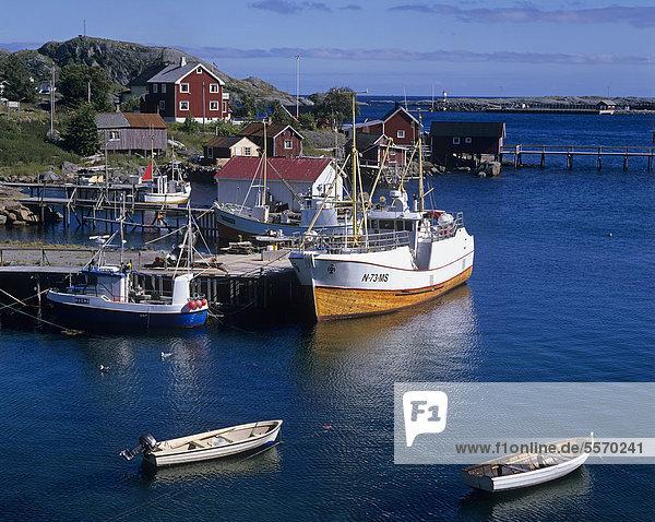 Hafen Europa Boot Norwegen angeln Skandinavien