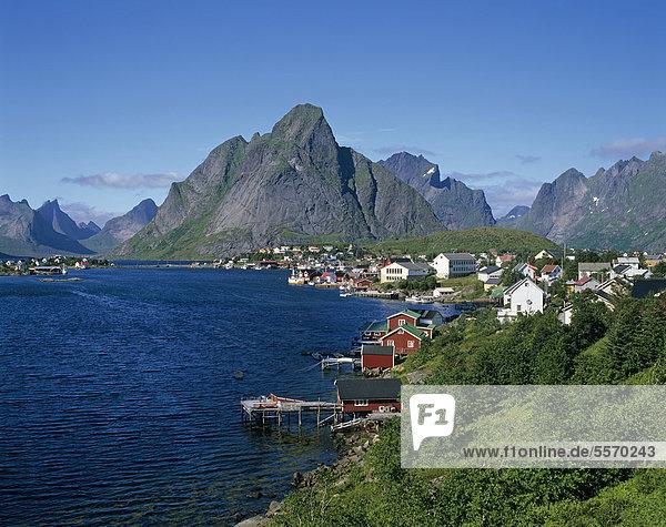 Europa Norwegen Skandinavien