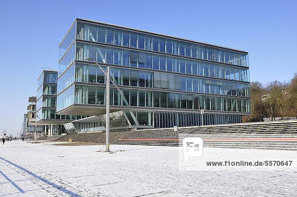 Bürogebäude  Hamburg Altona  Deutschland  Europa