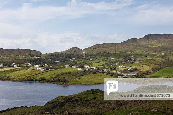 Teelin  Teelin Bay  County Donegal  Ireland  Europe