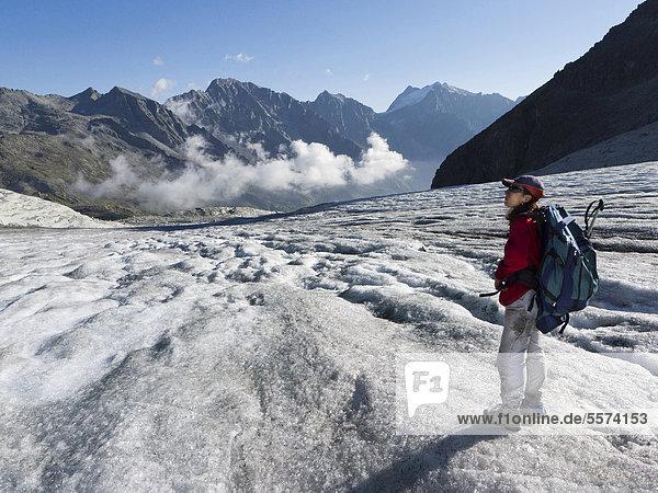 Italy  Trentino Alto Adige  Adamello Park  Presanella Mountain  Mandrone Glacier