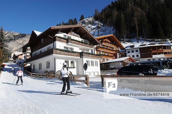 Europa  Italien  Trentino Alto Adige  Südtirol  Wolkenstein Gröden  Val Gardena