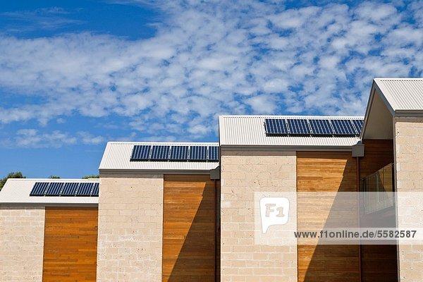 Dach Sonnenenergie Australien