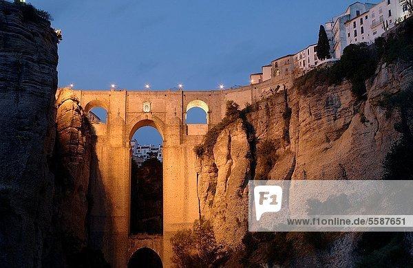Brücke Schlucht neu Ronda