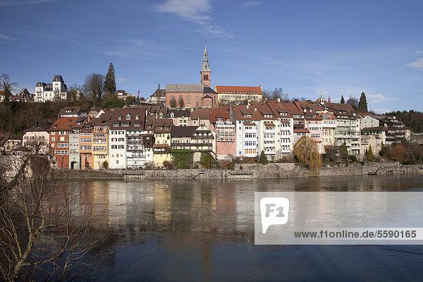 Laufenburg  Landkreis Waldshut  Hochrhein  Schwarzwald  Baden-Württemberg  Deutschland  Europa  ÖffentlicherGrund