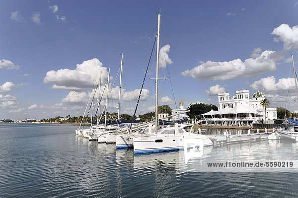 Yachten  Yachthafen  Cienfuegos  Kuba  Große Antillen  Karibik  Mittelamerika  Amerika