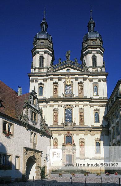 Kloster Schöntal  Jagsttal  Hohenlohe  Baden-Württemberg  Deutschland  Europa