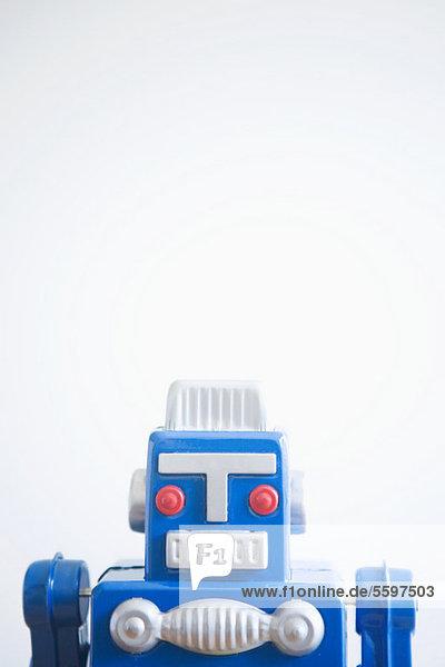 Retro-Spielzeugroboter