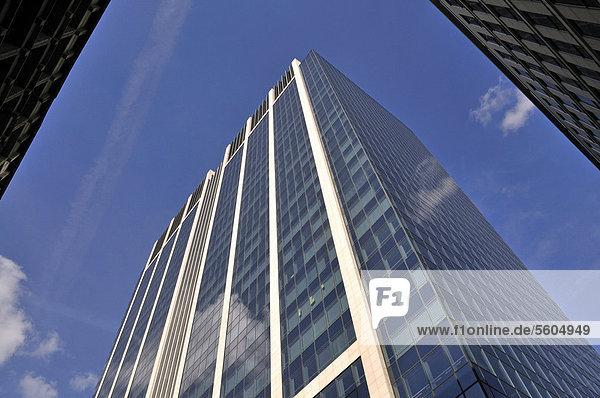 Finanzturm  Finance Tower  Brüssel  Brabant  Belgien  Europa  ÖffentlicherGrund