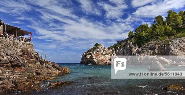 Europa Küste Balearen Balearische Inseln Mallorca Spanien