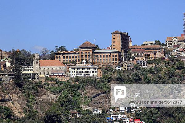 Hauptstadt Antananarivo  Tana  Madagaskar  Afrika